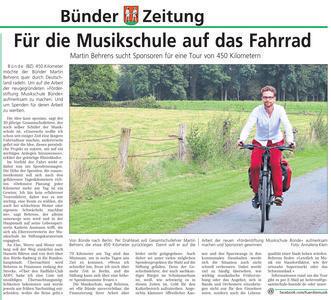 Fahrrad für Musik